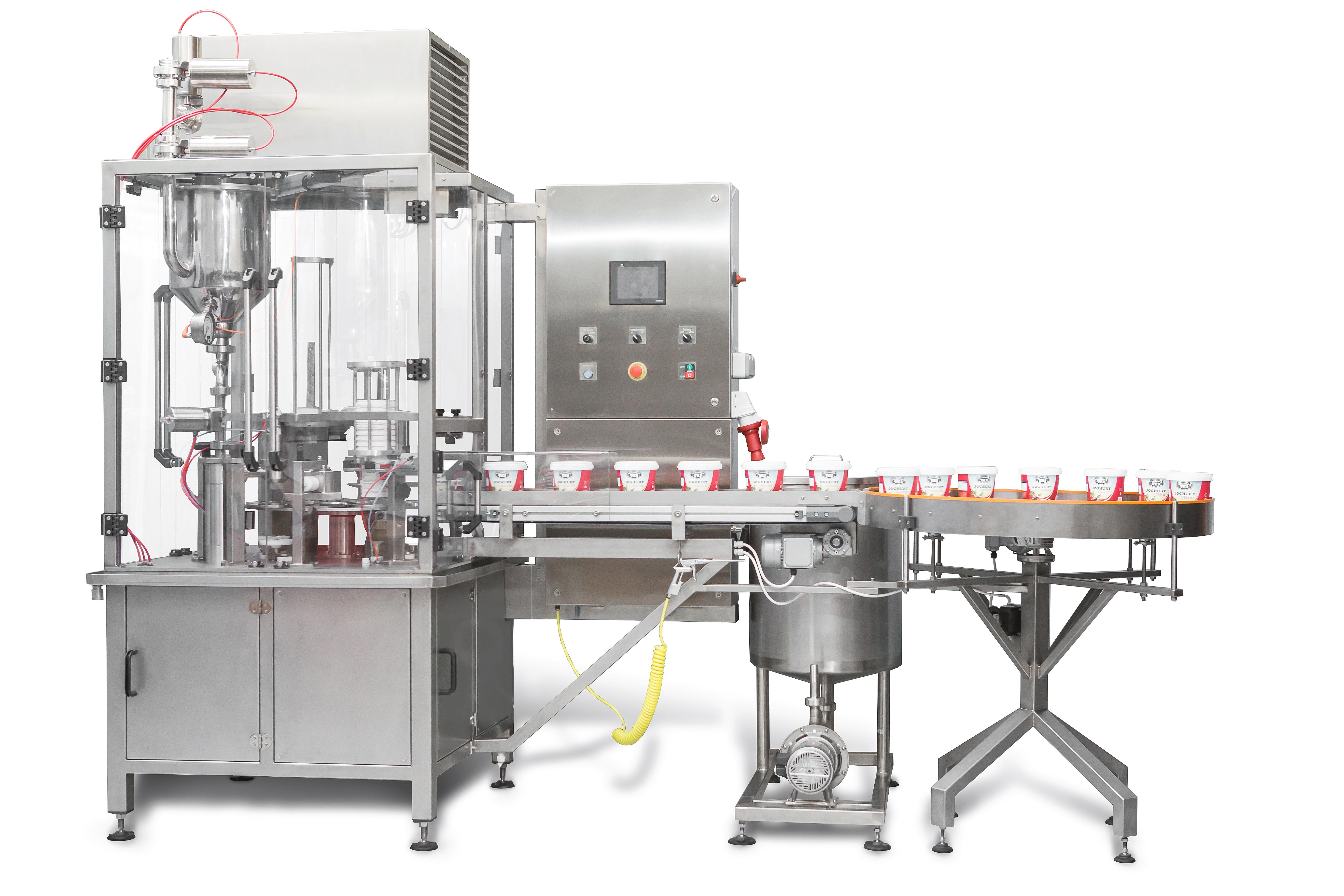 Automata tejföl csomagoló gép